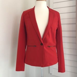 Trouble fitted blazer
